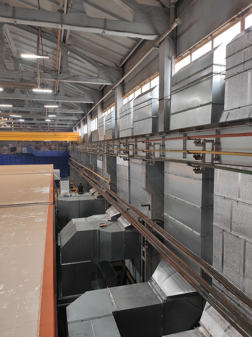 Изготовление промышленной вентиляции