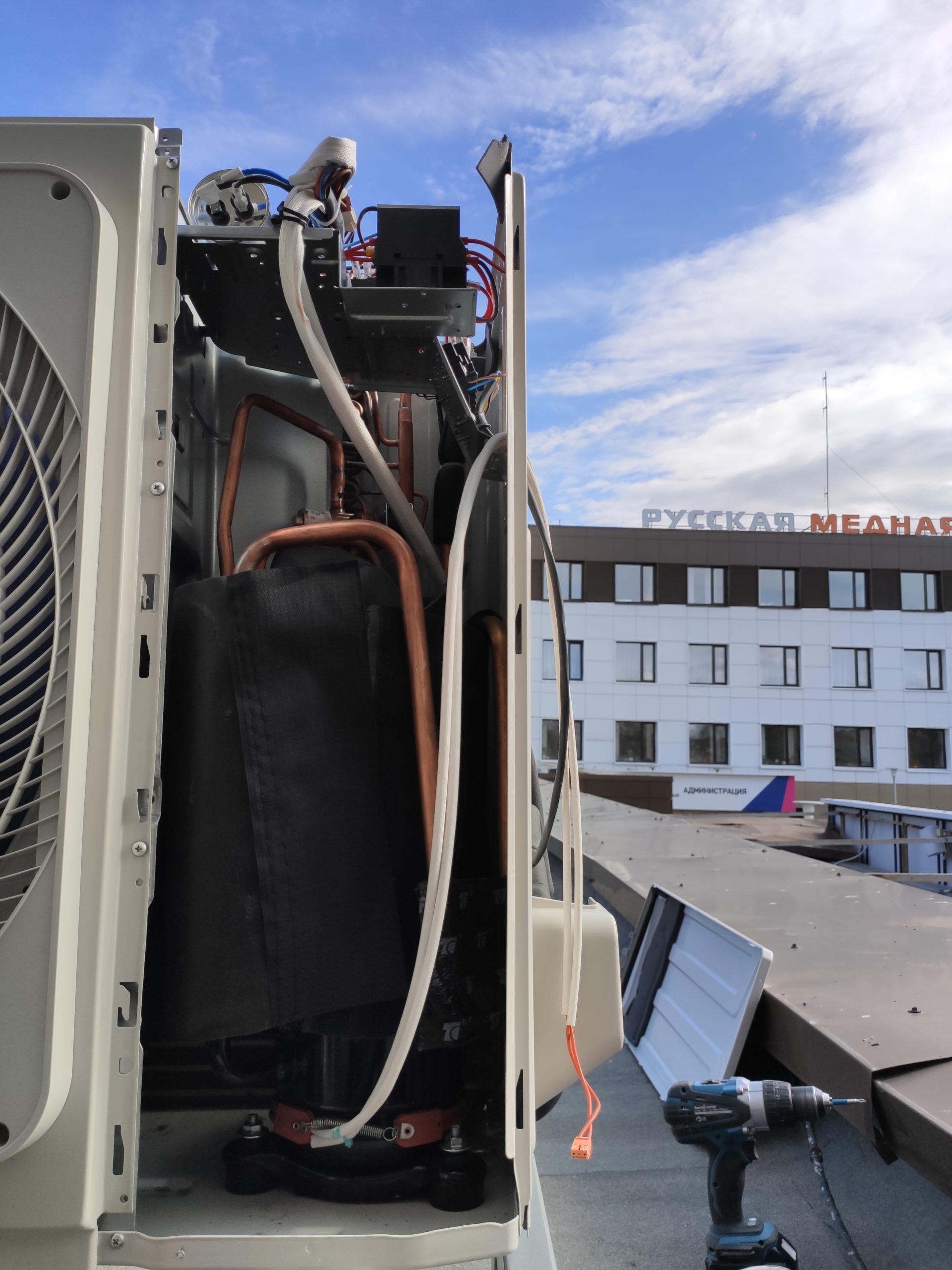 Промышленное кондиционирование и вентиляция в Миассе
