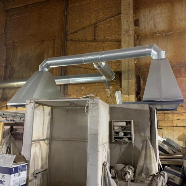 Промышленная вентиляция фото пример