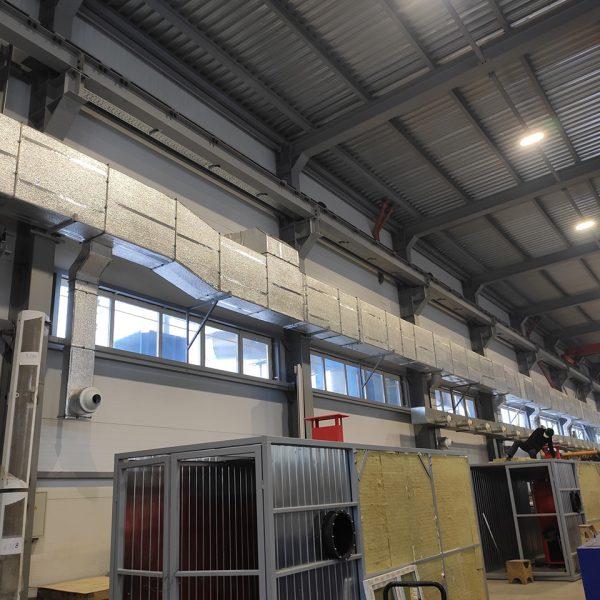 промышленная вентиляция на заказ в Миассе